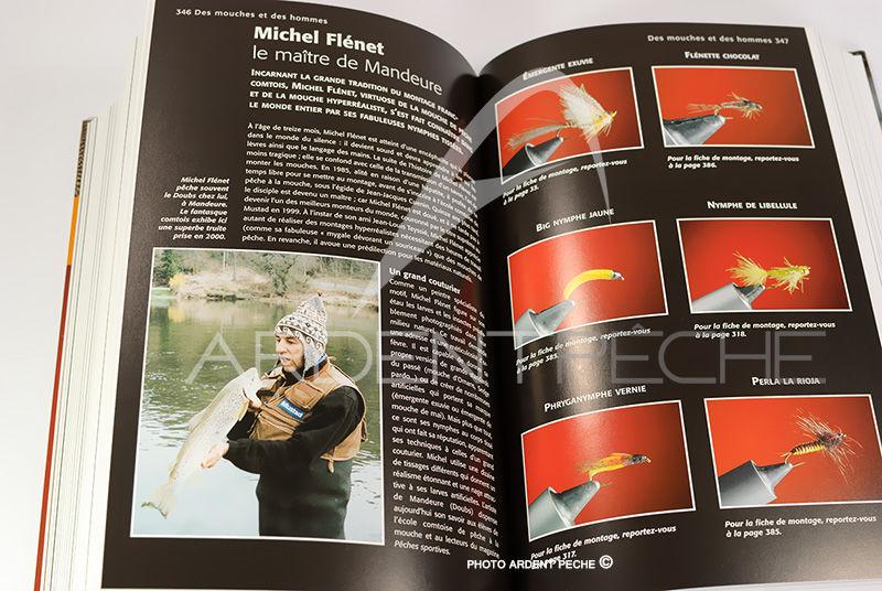 Fabuleux Livre Mouches de pêche l´encyclopédie 1500 modéles., Livres  SI91