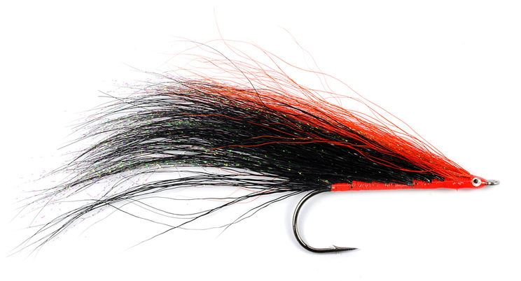 Mouche FMF Brochet black and red 2535