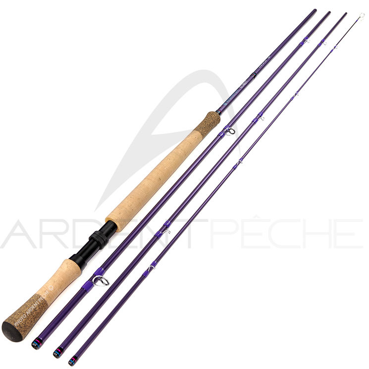 Canne à mouche REDINGTON DUALLY II SPEY 13'6 soie 7 purple