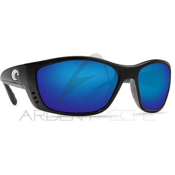 Lunettes polarisantes COSTA Fisch black 580P Bleu miroir. COSTA DEL MAR 9fa5c69be9f0