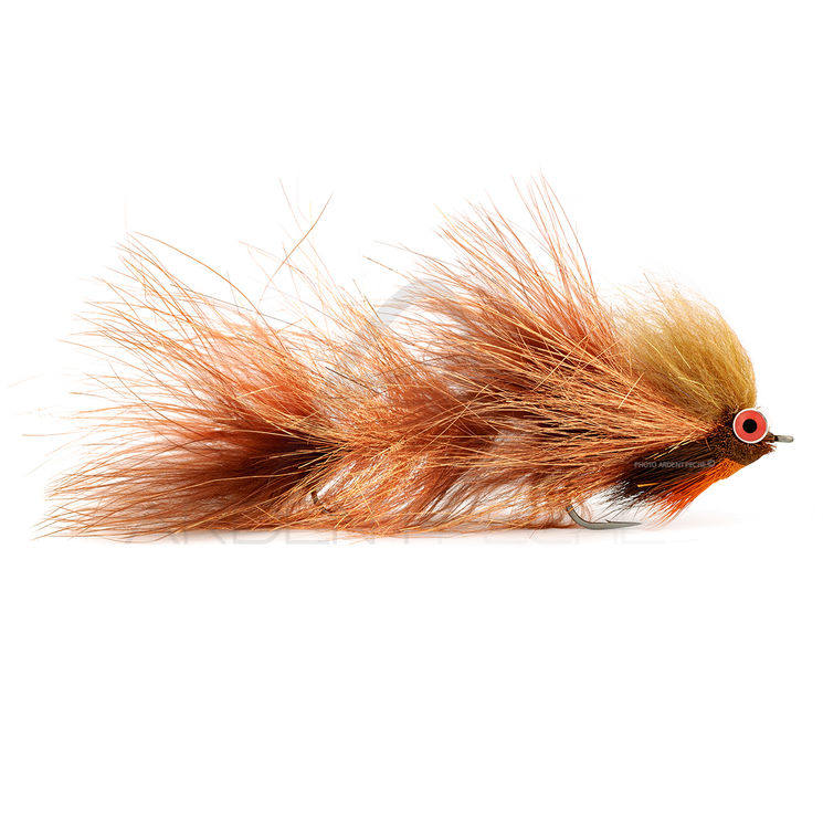 Mouche FMF Brochet Artic Trout Slider copper 9872