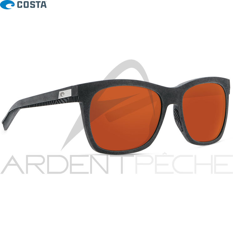 Lunettes polarisantes COSTA DEL MAR Caldera Net gray with gray rubber 580G Copper
