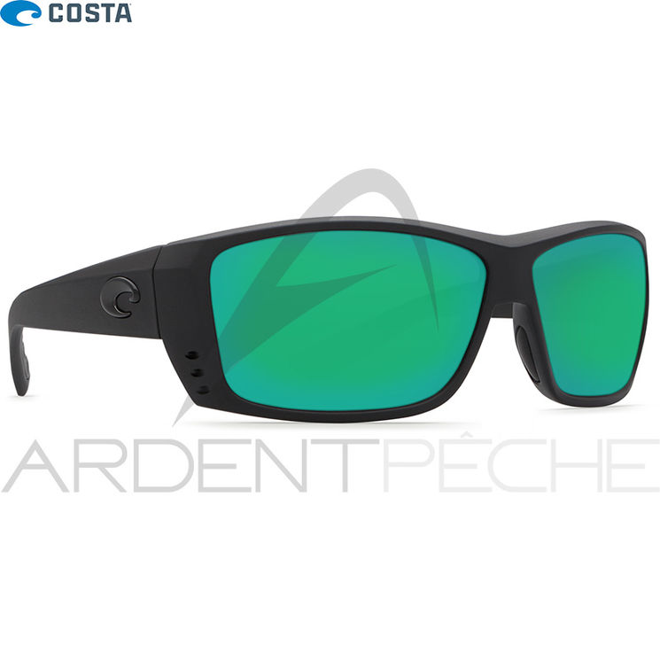 Lunettes polarisantes COSTA DEL MAR Cat cay Blackout 580P Green mirror