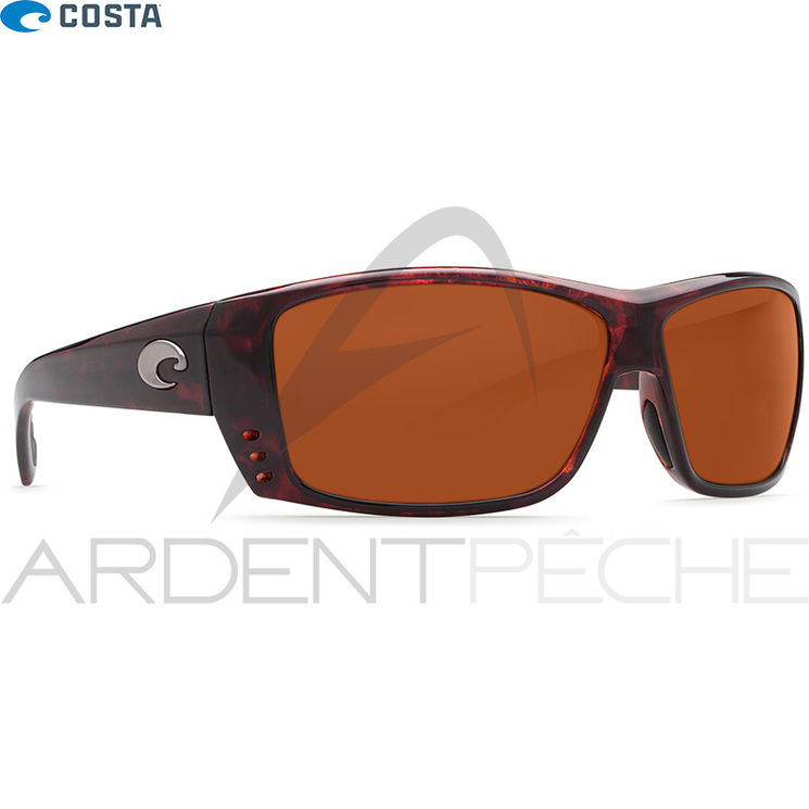 Lunettes polarisantes COSTA DEL MAR Cat cay Tortoise 580P Copper